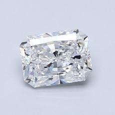 0.90-Carat Radiant Diamond Very Good D SI1