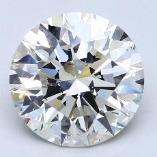 4.01-Carat Round Diamond Ideal K SI2