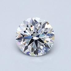 0.80 Carat 圓形 Diamond 理想 D VVS2