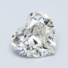 Piedra recomendada 3: Forma de corazón de 1.11 quilates