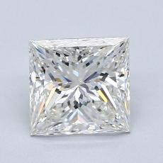 推荐宝石 4:1.60 克拉公主方形钻石