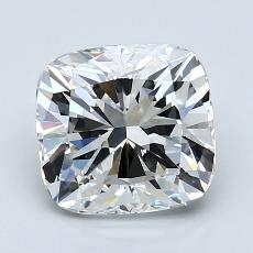 2,05-Carat Cushion Diamond Very Good F VVS1