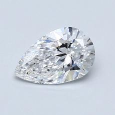 0.71 Carat 梨形 Diamond 非常好 D VVS2