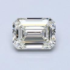 Recommended Stone #2: 1.02-Carat Emerald Cut Diamond