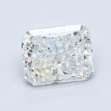 1,01-Carat Radiant Diamond Very Good H VS2