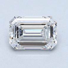 推荐宝石 3:1.28 克拉祖母绿切割钻石