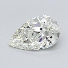 Recommended Stone #1: 1.14-Carat Pear Cut Diamond