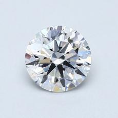 0.82 Carat 圆形 Diamond 理想 D VVS2