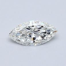 Recommended Stone #1: 0.46-Carat Marquise Cut Diamond