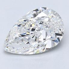 Pierre recommandée n°2: Diamant taille poire 2,28carats