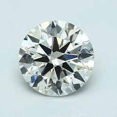 推荐宝石 3:1.10 克拉圆形切割