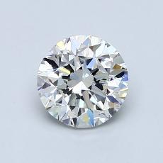 1.00 Carat 圆形 Diamond 良好 G VS2