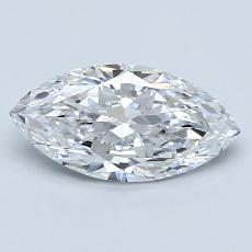 1.22-Carat Marquise Diamond Very Good D IF