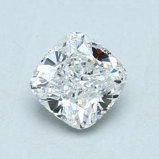 1.08-Carat Cushion Diamond Very Good G VVS2