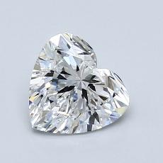 Recommended Stone #1: 1.04-Carat Heart Shaped