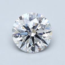1.21 Carat 圆形 Diamond 理想 D IF