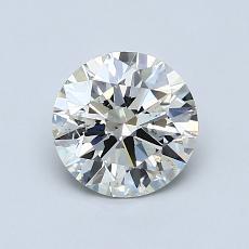 1.01 Carat ラウンド Diamond アイデアル K SI2