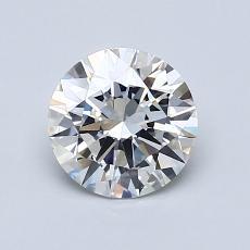 1.00 Carat 圆形 Diamond 理想 D VS1