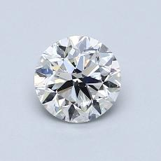 Recommended Stone #1: 0.80-Carat Round Cut