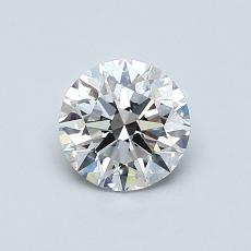 0.75 Carat 圓形 Diamond 理想 D VS1