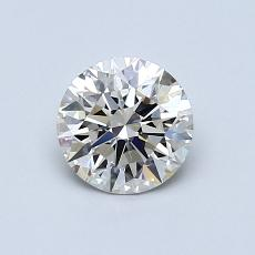 推荐宝石 3:0.76 克拉圆形切割