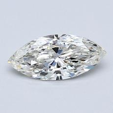 推薦鑽石 #2: 0.59 克拉欖尖形切割