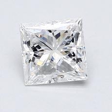 推薦鑽石 #1: 0.72  克拉公主方形鑽石