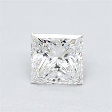 0.71 Carat 公主方形 Diamond 非常好 F VVS2
