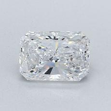 1.01-Carat Radiant Diamond Very Good E VS1