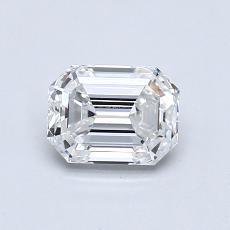 Recommended Stone #4: 0,81-Carat Emerald Cut Diamond