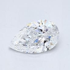 Recommended Stone #4: 0.66-Carat Pear Cut Diamond