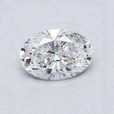 Recommended Stone #4: 0.73-Carat Oval Cut Diamond