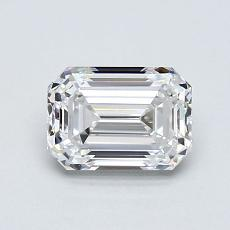 目标宝石:1.08 克拉祖母绿切割钻石