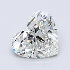 Recommended Stone #3: 1.62-Carat Heart Cut Diamond