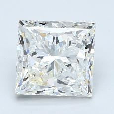 Recommended Stone #3: 2.11-Carat Princess Cut