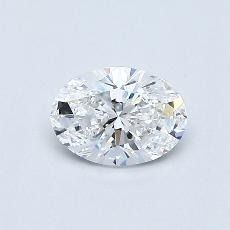 Recommended Stone #4: 0.47-Carat Oval Cut