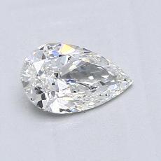 0.70-Carat Pear Diamond Very Good F VS2