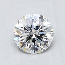 1.15-Carat Round Diamond Ideal F SI2