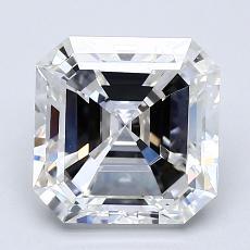 Recommended Stone #4: 2.04-Carat Asscher Cut Diamond