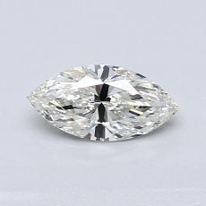 Pierre recommandée n°2: Diamant taille princesse 0,50 carat