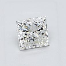 Recommended Stone #1: 0.81-Carat Princess Cut Diamond