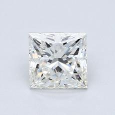 Recommended Stone #2: 1,05-Carat Princess Cut Diamond