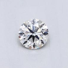 推薦鑽石 #2: 0.46 克拉圓形切割鑽石
