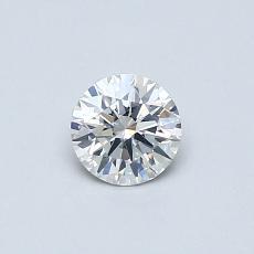 Pierre recommandée n°3: Diamant rond 0,38 carat