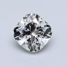 推薦鑽石 #3: 0.93  克拉墊形切割鑽石