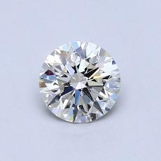 0.53-Carat Round Diamond Ideal K SI2