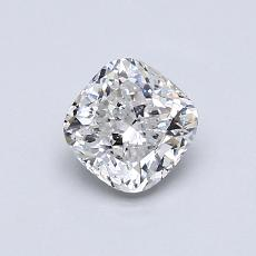 Recommended Stone #2: 0.77-Carat Cushion Cut Diamond