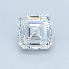 Recommended Stone #3: 0,97-Carat Asscher Cut Diamond
