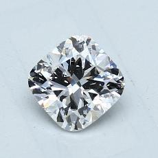 推荐宝石 3:1.00 克拉垫形钻石