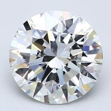 Recommended Stone #1: 2.91-Carat Round Cut Diamond